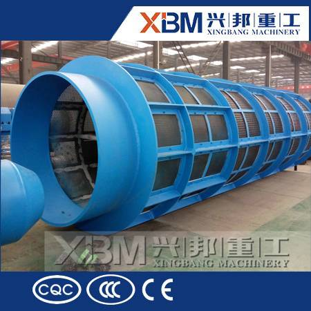 XBM rotary drum screen with best price