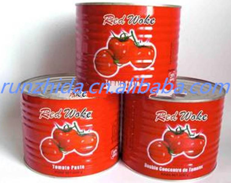 popular tin canned tomato ketchup