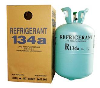 Refriegrant gas R134a