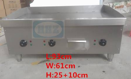 Stainless steel big Electric griddle/ table top flat plate big griddle-- E36