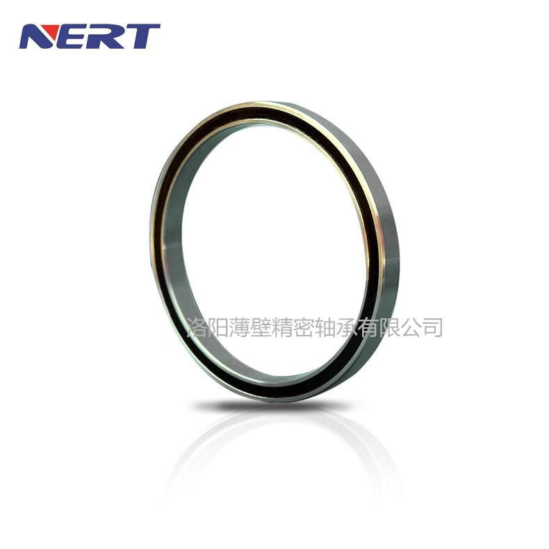 JU045XP0 Luoyang Bearing Real Thin Bearings Four Point Contact Ball Bearing Rubber Sealed