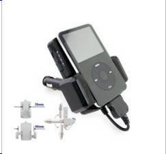 Mini Car Kit for iPod/FM Transmitter (JD-F04)
