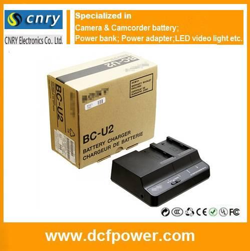 Dual Charger BC-U2 for Sony BP-U30 BP-U60 BP-U90 Camcorder Battery