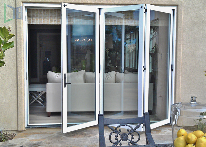 Hurricane Impact Security Balcony Bi Fold Door In China China supplier Australia Standard AS2047/As/