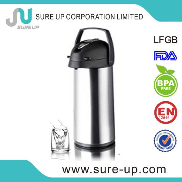 fashion 1.9 litre high quality glass liner lever style airpots(AGUP)