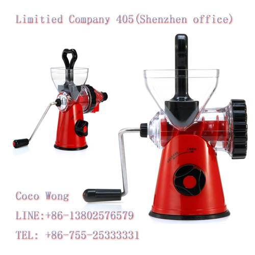 Shenzhen Stainless Steel Citrus Slow Juicer Wholesale
