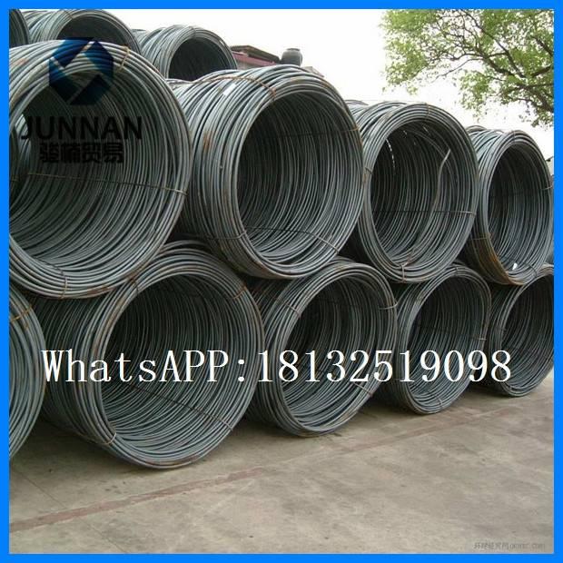 5.5mm 10mm mild carbon wire rod