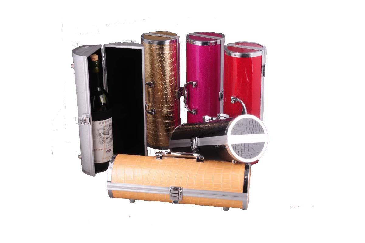 aluminum wine carrying hox