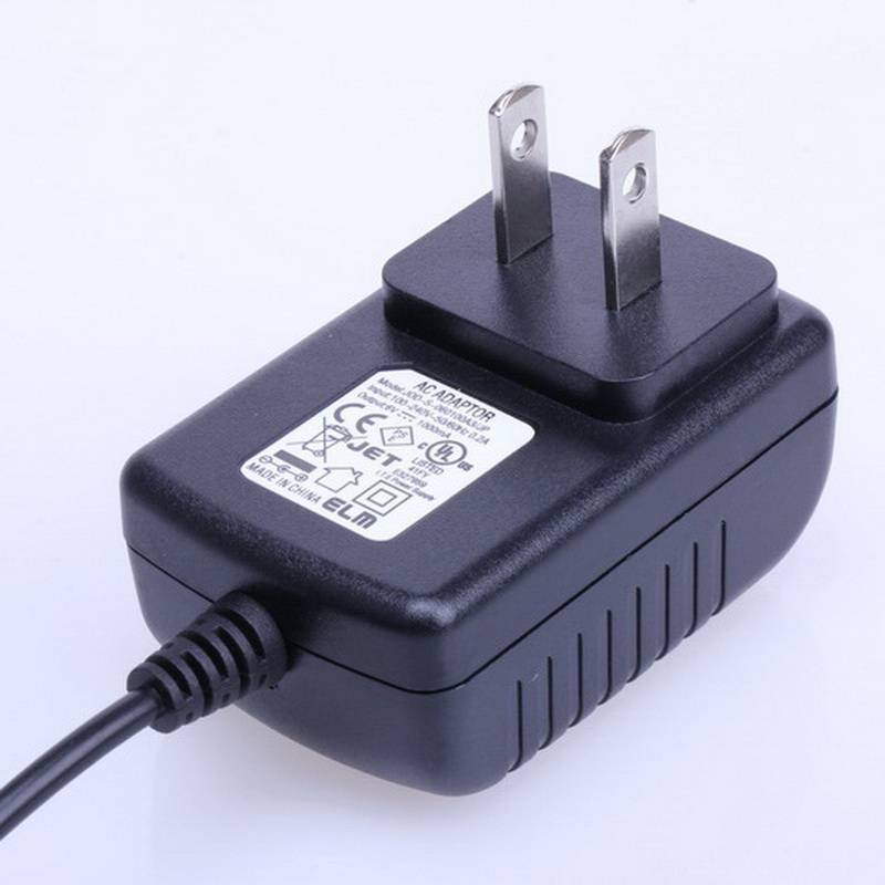 AC 100V-240V Converter Adapter DC 15V 1A Power Supply PSE Plug DC 5.5mm x 2.1mm 1000mA with RoHS and