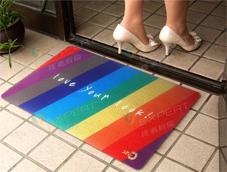 Soft Rubber Anti-slip waterpfoot bath mat