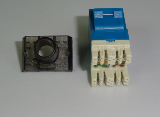 AMP Cat6 unshielded keystone jack