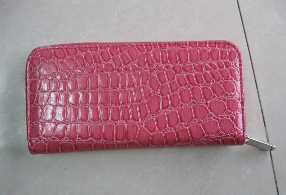 Lady evening leather handbag