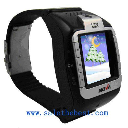 Camera Triband Watch Mobile Phone N800