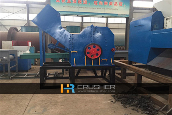 2017 Car shell crusher with full service