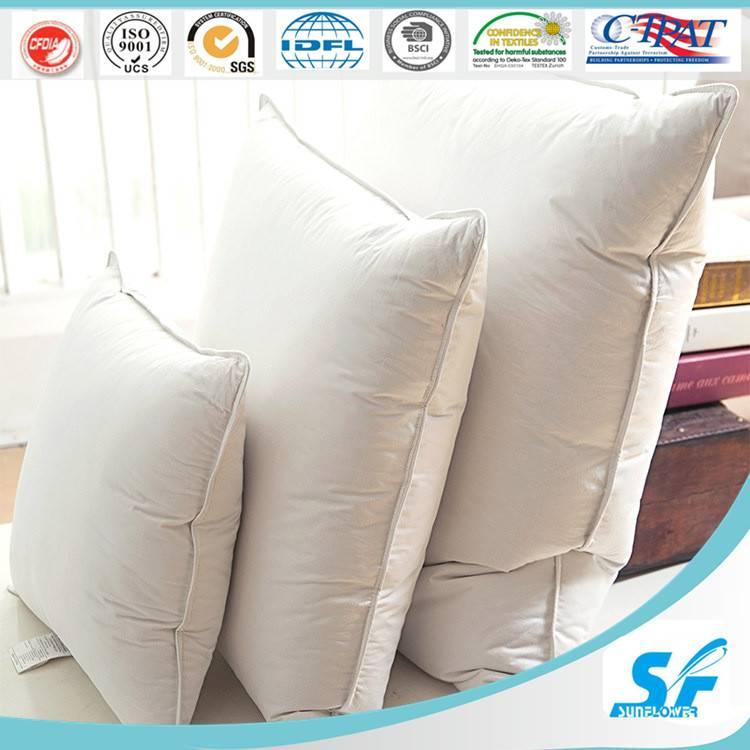 5/95% goose/duck feather pillow