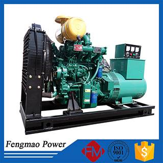 Diesel generator powered by weichai engine