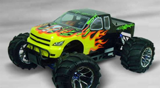 1:5th Nitro Powered 4WD RC Monster Truck(94050)