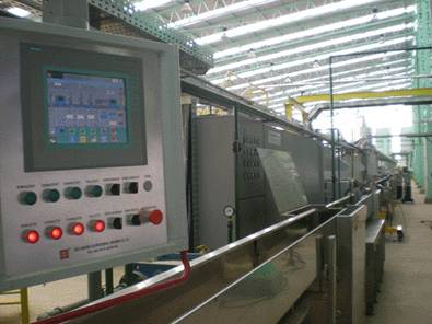 PVC wire extrusion line