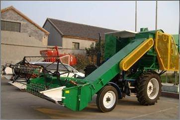wheat combine harvester mount on tractor(4LD-2.0 )