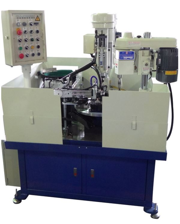 Rotary index auto feeding multi-station processing special purpose machine