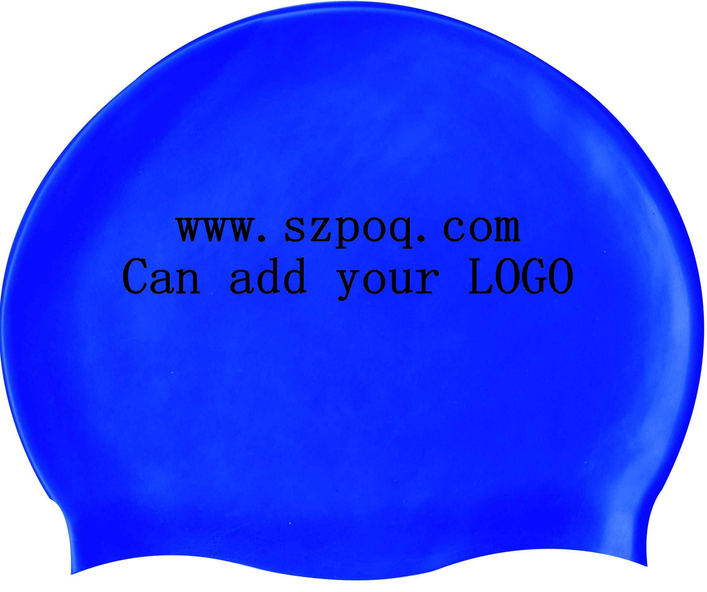 silicone swimming caps