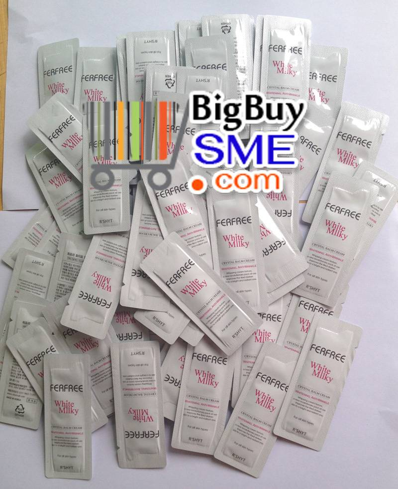 7 tips white skin in a single tube FERFREE White Milky Price gently without the handle. Imports from