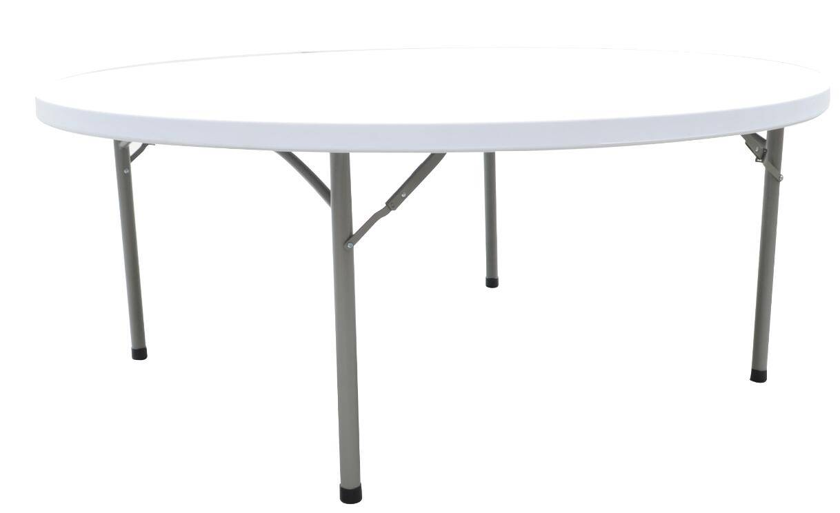 China Wholesale 200cm Round Table for Barbecue, Camping, Picnic, Catering(YCZ-200R)