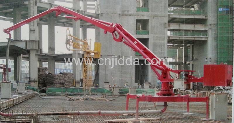 HGY 18 Mobile Hydraulic Concrete Pump Placing Boom