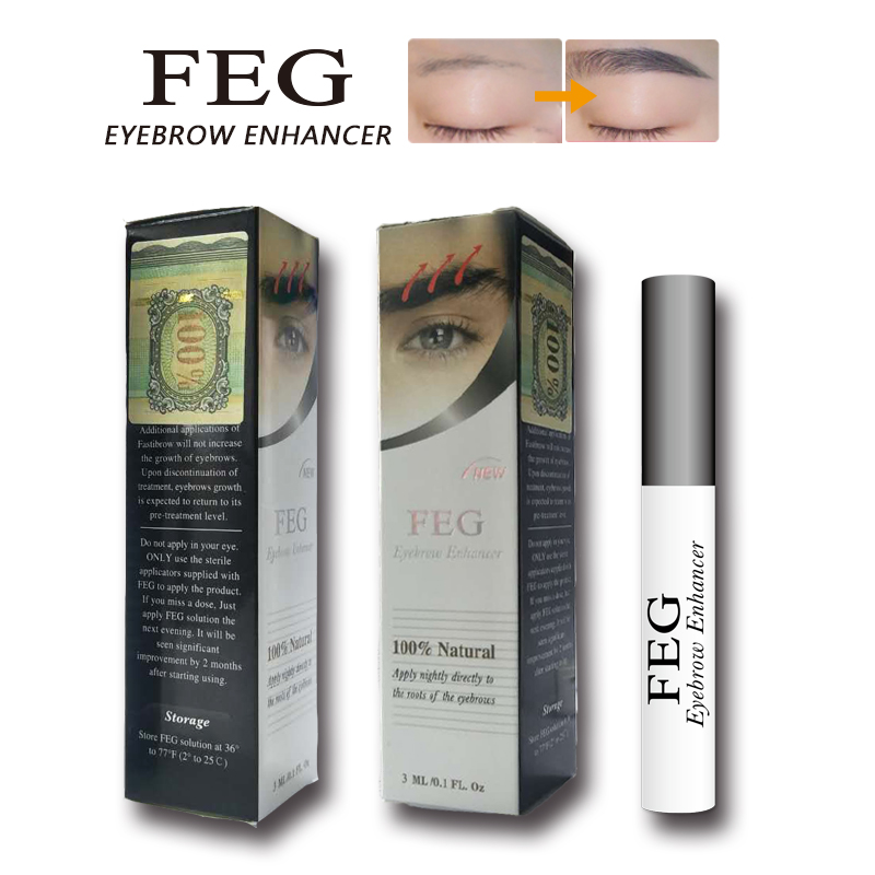 Male or Female Use Natural FEG Eyebrow growth Serum
