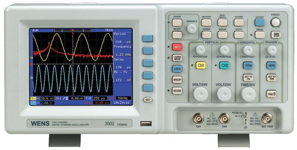 Portable Digital Oscilloscope