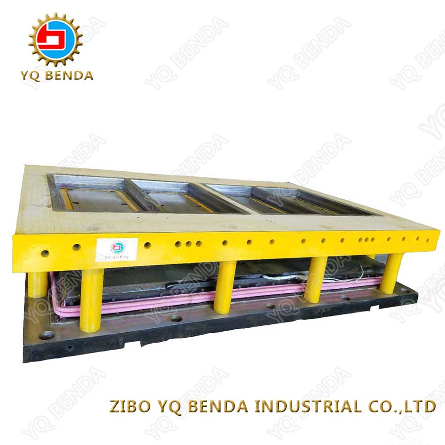 Long durable press used ceramic tile mould
