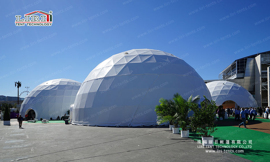 Snow Loading 500 People Dome Tent for Outdoor Weddings and Parties