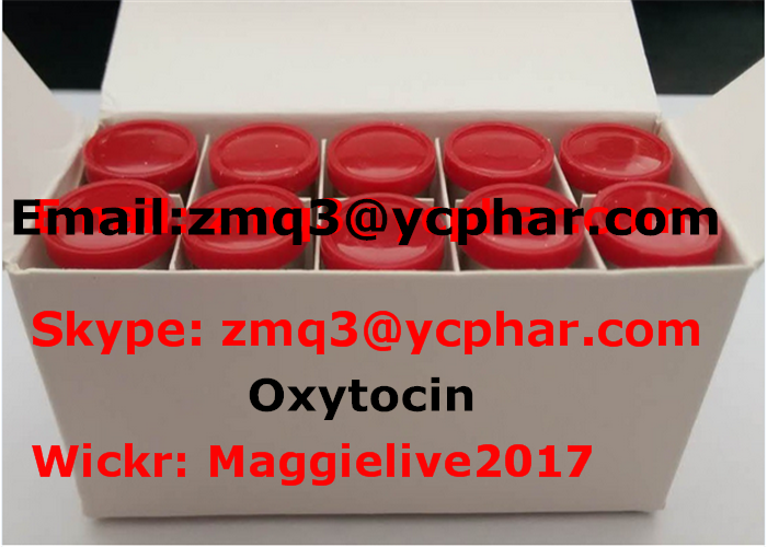 Oxytocin Growth Hormone Peptides CAS 50-56-6 With 99% Assay , White Lyophilized Powder