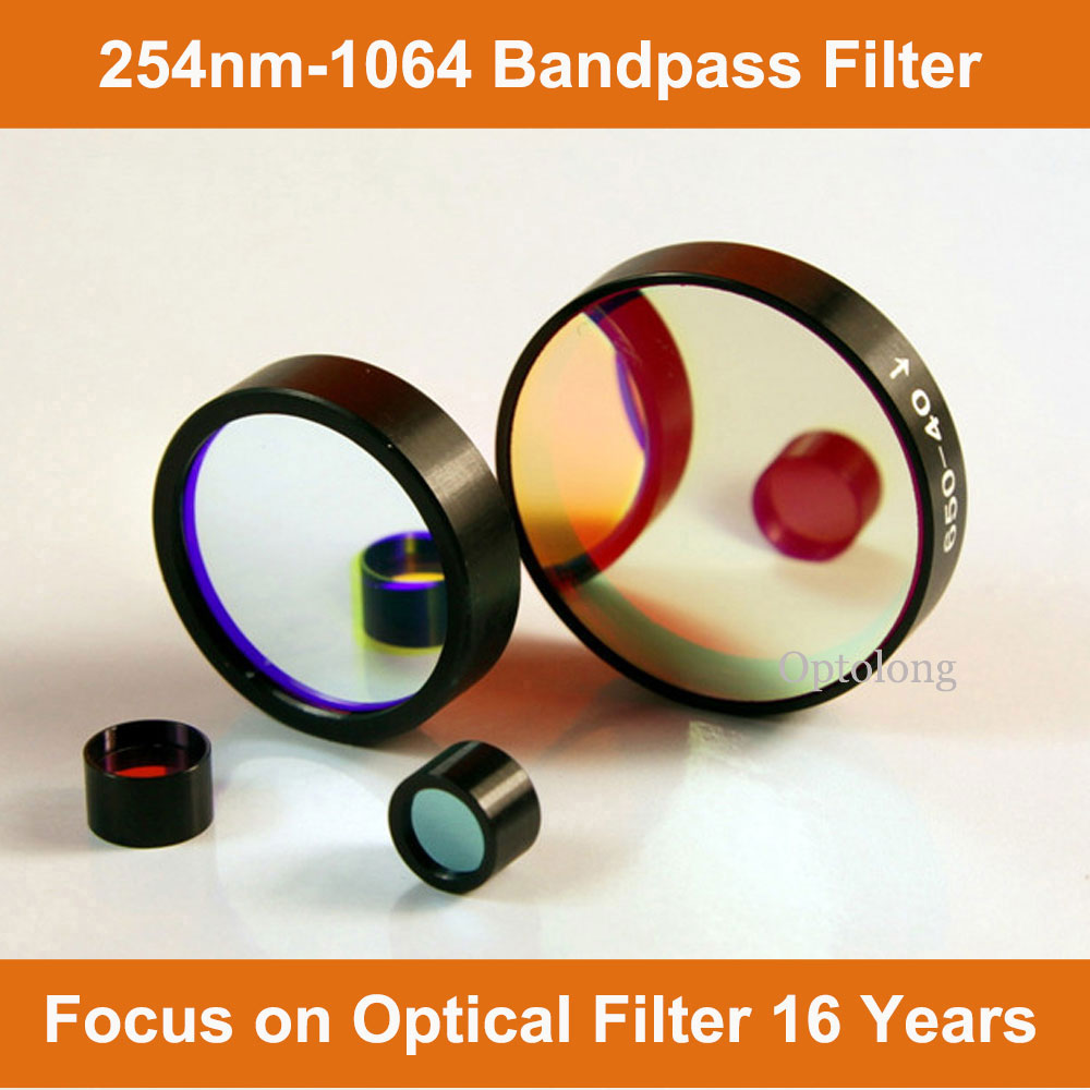 Optolong OEM 230nm-1064nm Bandpass Filter Optical Filter for Spectrometer, Laser Detector, Imaging S