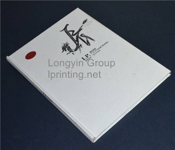 Chinese Wind Hardcover Book Printing,White Hardcover Book Printing,Square Back Hardcover