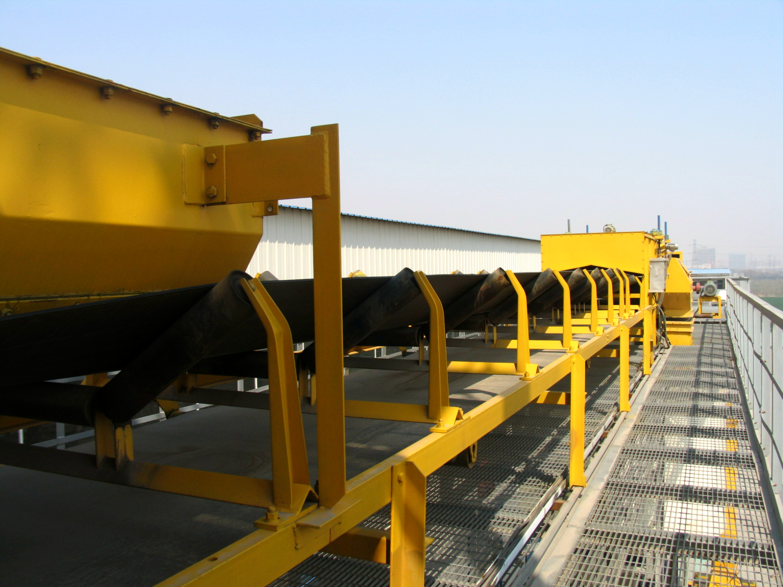 Open Belt Conveyors