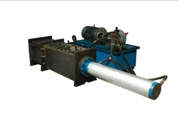 Aluminum Foil Scrap Press, Baler