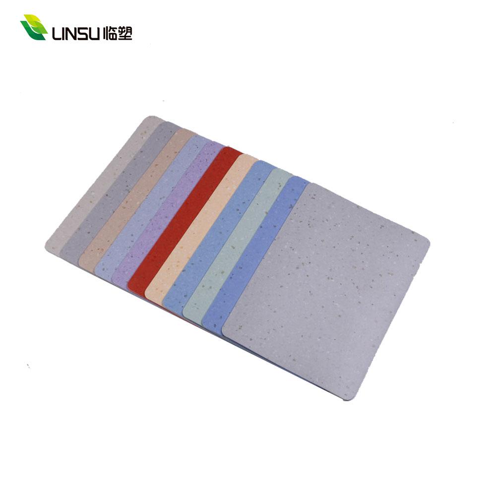 Elastic Cheap Price Anti Slip Vinyl plastic industrial vinyl flooring homogenous floor covering