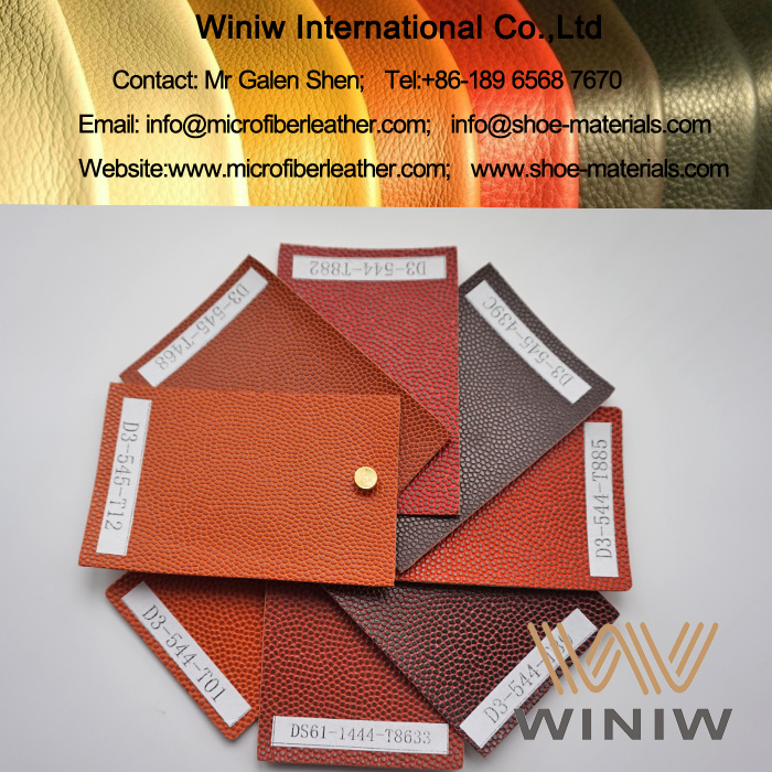 High Quality PU Synthetic Leather for Football & Soccer Balls