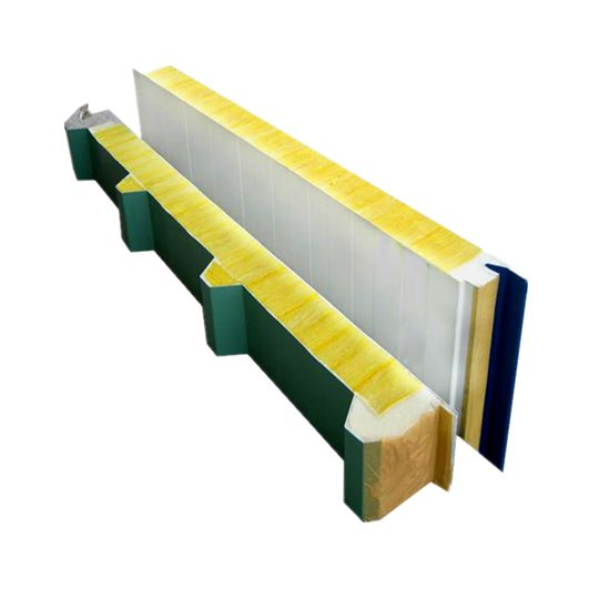 Ordinary Rock Wool Glass Wool Sandwich Panel