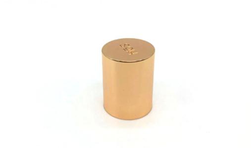 Rose gold Zamac Perfume Bottle Cap