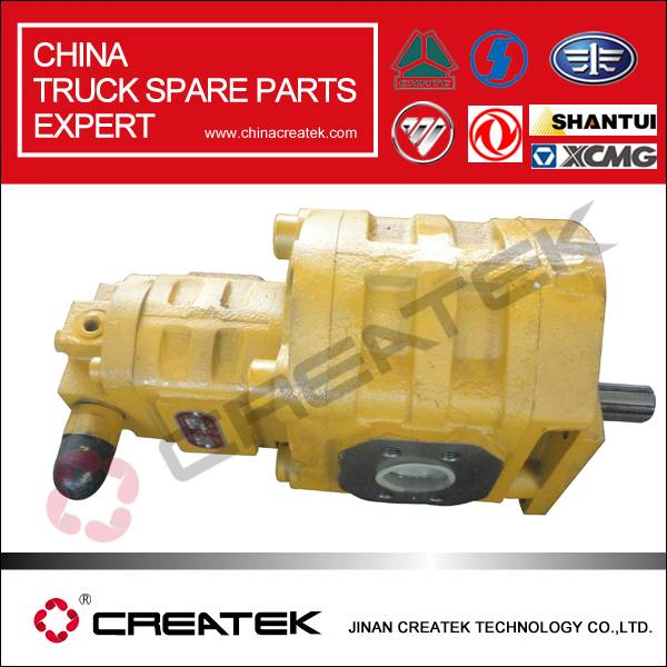 CREATEK shantui spare parts hydraulic gear pump