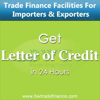 Avail Letter of Credit for Importers & Exporters