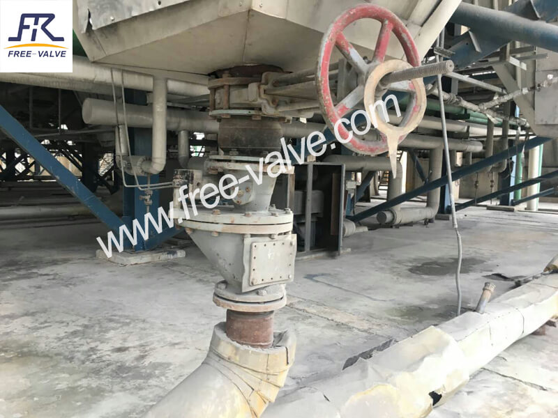 Flanged Ceramic Discharge Knife Gate Valve for Coal Washing Plant