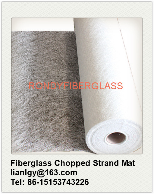 E glass Fiberglass chopped strand mat