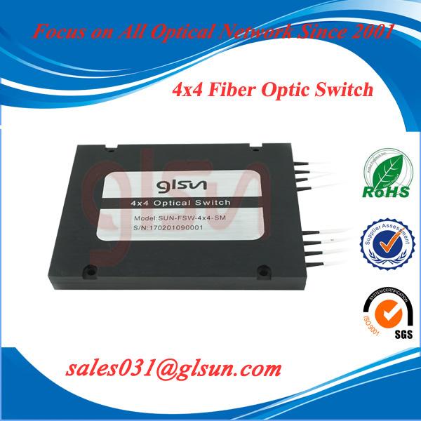 4×4 Cascade Optical Switch