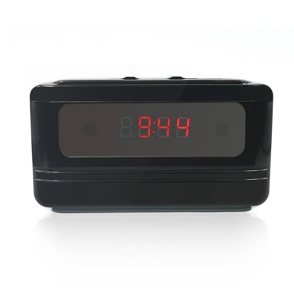 HD1080P Mini Wifi Hidden camera alarm clock