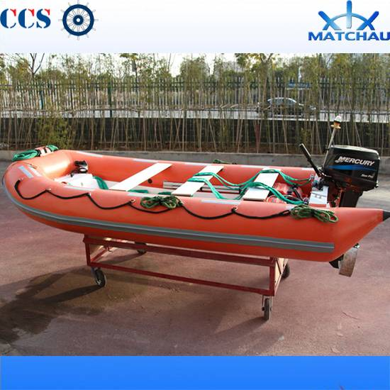 5.20m Rigid Inflatable Rubber Rescue Boat