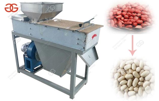 Roasted Peanut Dry Peeling Machine With Factory Price