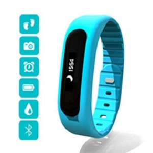 bluetooth activity & heart rate monitor fitness smart bracelet wristband nordic
